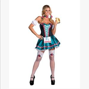 Oktoberfest beer girl sexy Halloween costume lg